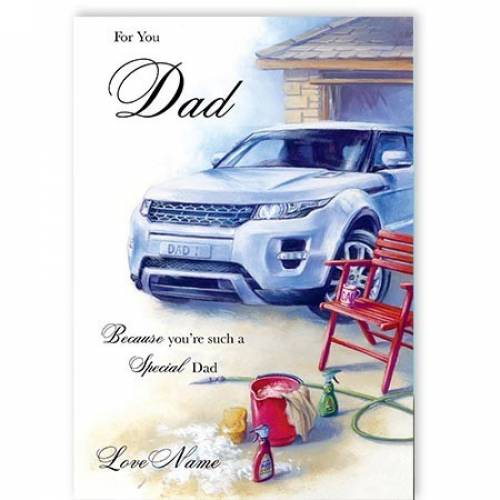 For You Special Dad Card