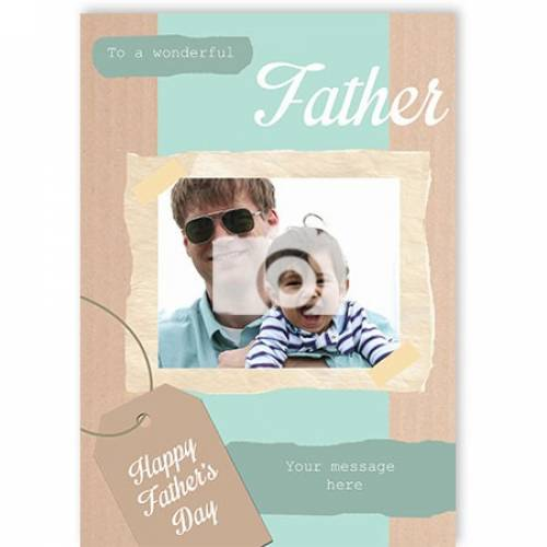 Wonderful Father Father's Day Card