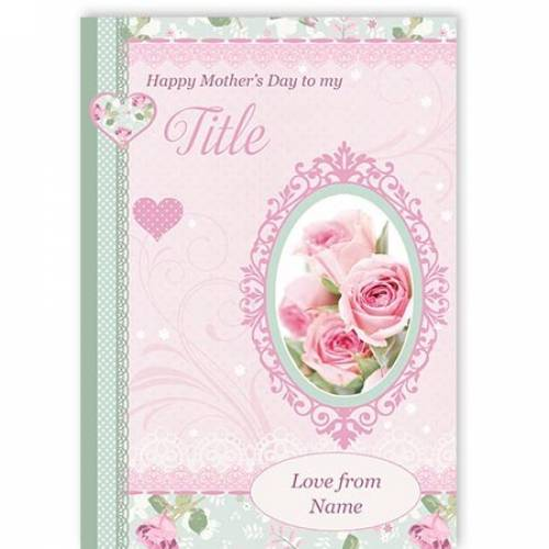 Happy Mother's Day Roses Card