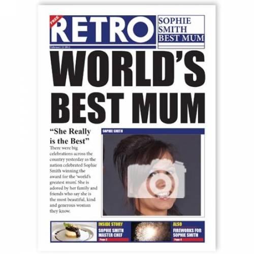 World's Best Mum Card