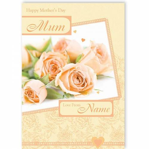 Happy Mother's Day Mum Card