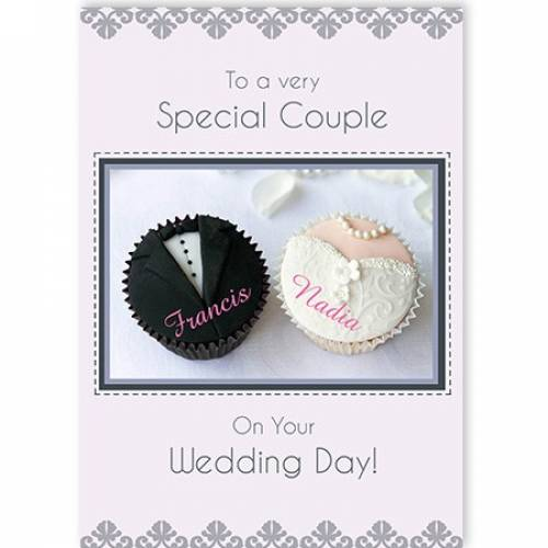 Special Couple On Your Wedding Day Card