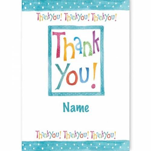 Thank You! Thank You! Thank You! Card