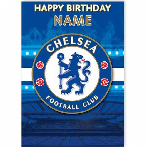 Chelsea Happy Birthday Card
