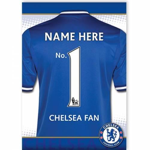 No. 1 Chelsea Fan Card