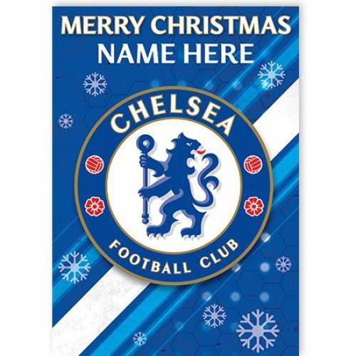 Chelsea Merry Christmas Card