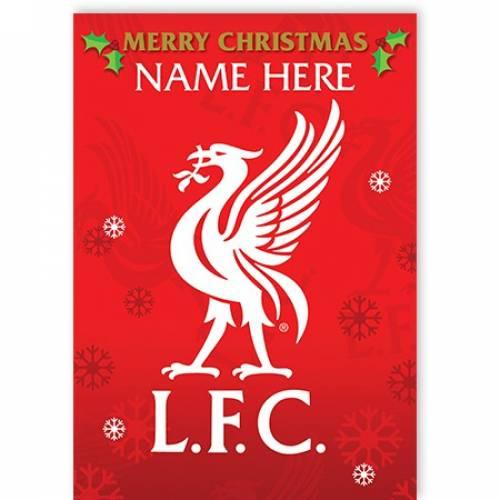 Liverpool Merry Christmas Card