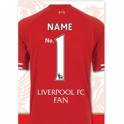 No. 1 Liverpool Fan Card