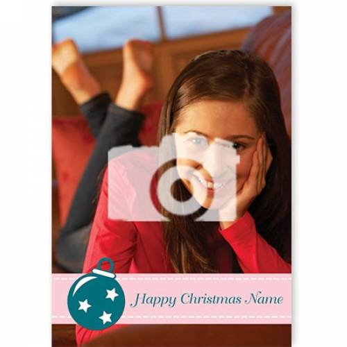 One Photo Any Message Christmas Card