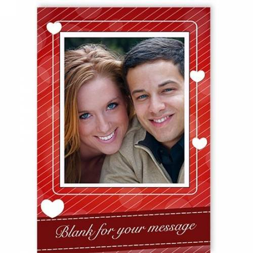 Romantic One Photo Any Message Card