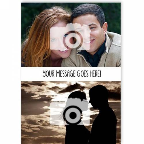 Any Occasion Two Photo Any Message Card