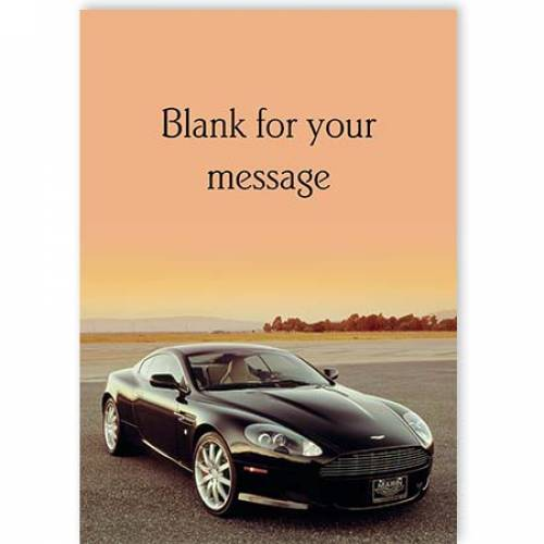 Sports Card Any Message Any Occasion Card