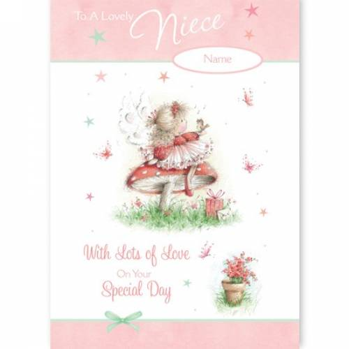 Lovely Niece On Your Special Day Card