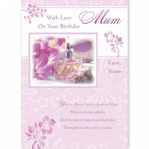 Perfect Mum Birthday Card