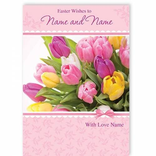 Easter Wishes With Love Easter Card