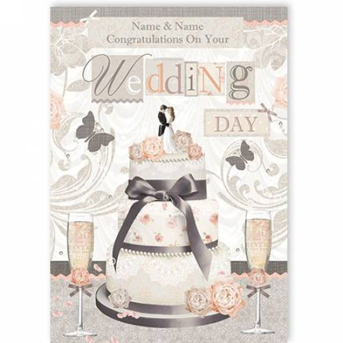 Congratulations Couple On Your Wedding Day Card