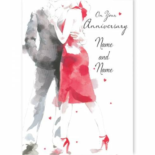 Couple On Your Anniversary Card