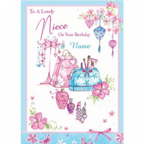 Lovely Niece On Your Special Birthday Card