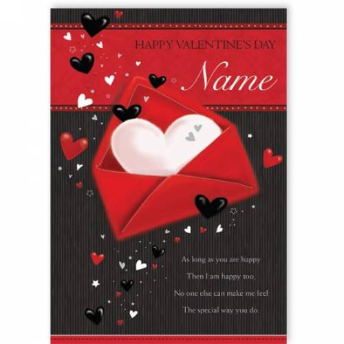 Special Way You Make Me Feel Valentine's Day Card
