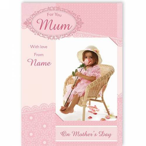 For You Mum On Mothers Day Card