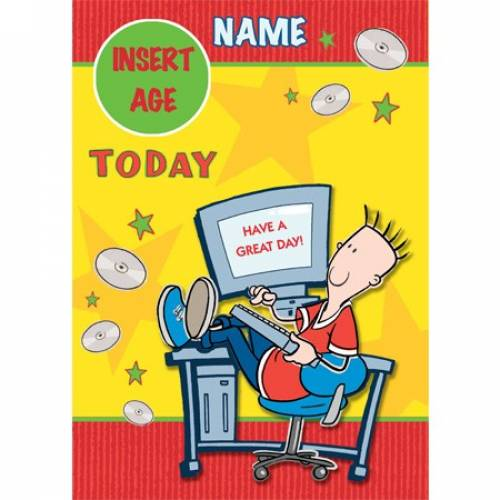 Have A Great Day Young Teenager Any Age Birthday Card