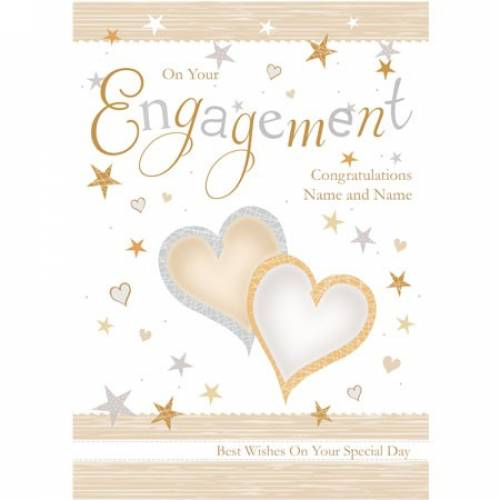 Congratulations And Best Wishes On Your Special Engagement Card