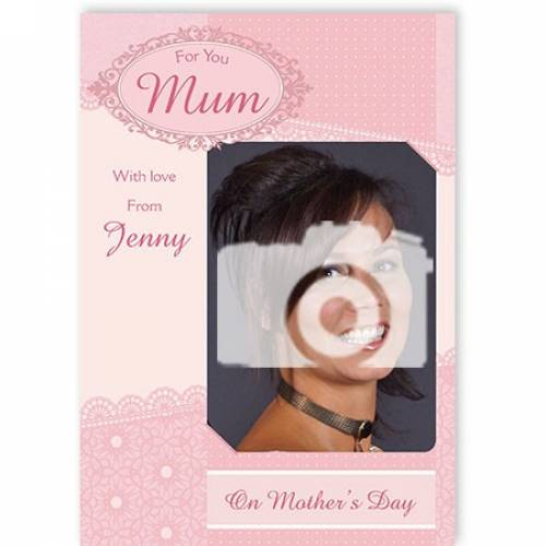 Love From On Mother's Day Card