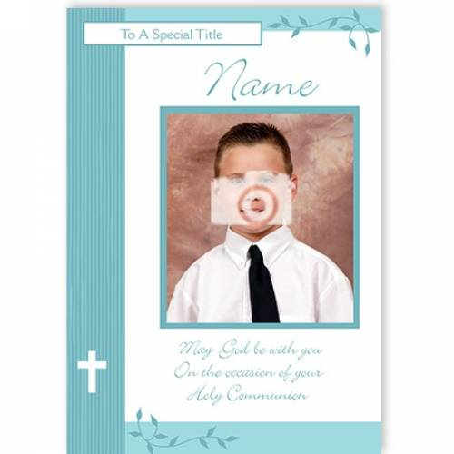 Holy Communion May God Be With You Card