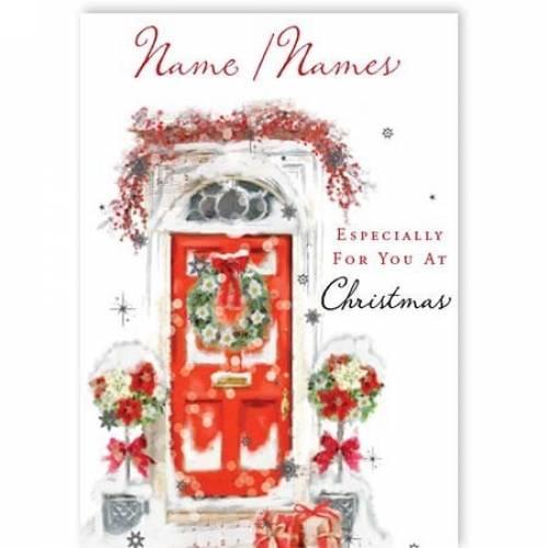 Christmas Especially For You Door Card
