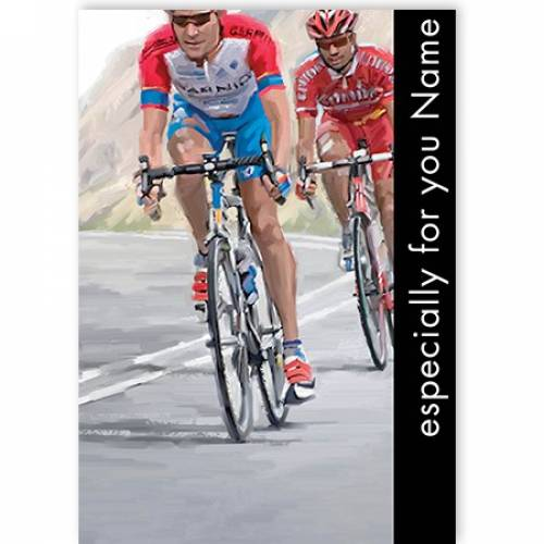 Cycling Especially For You Card
