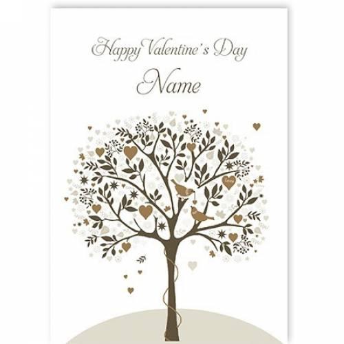 Happy Valentine's Day Songbirds Card
