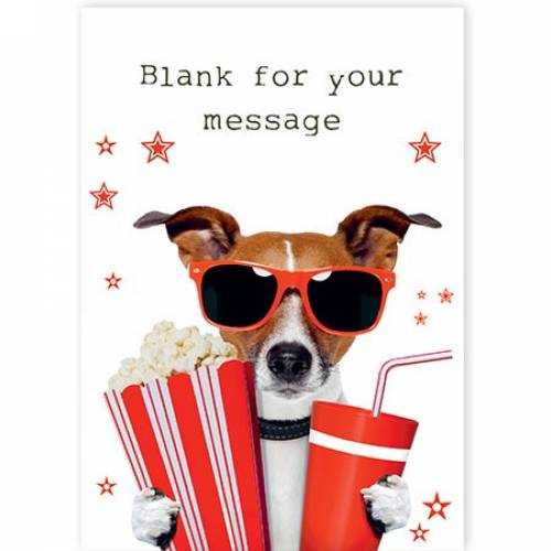 Jack Russell With Goodies Card