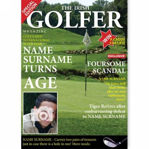The Irish Golfer Name And Age And Photo Card