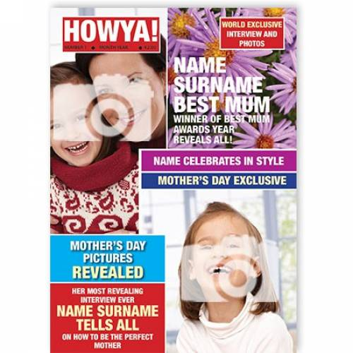 Howya! Magazine Mother's Day Card