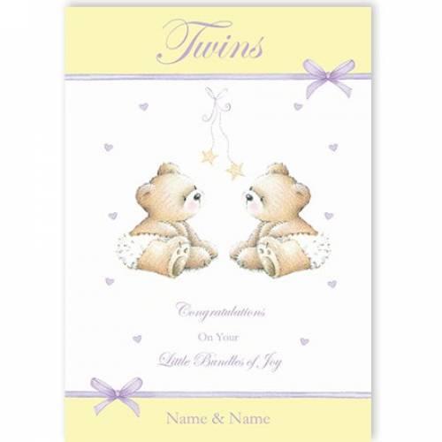 Twins - Bundles Of Joy Card