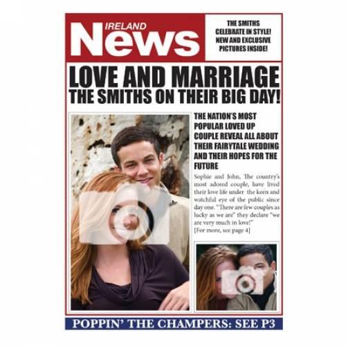Ireland News -Their Big Day Card