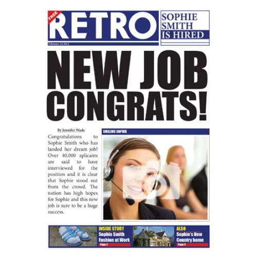 New Job - Congrats Card