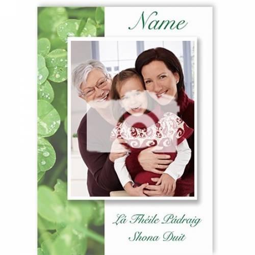 Lá Fhéile Pádraig Shona Duit Happy Saint Patricks Day Card