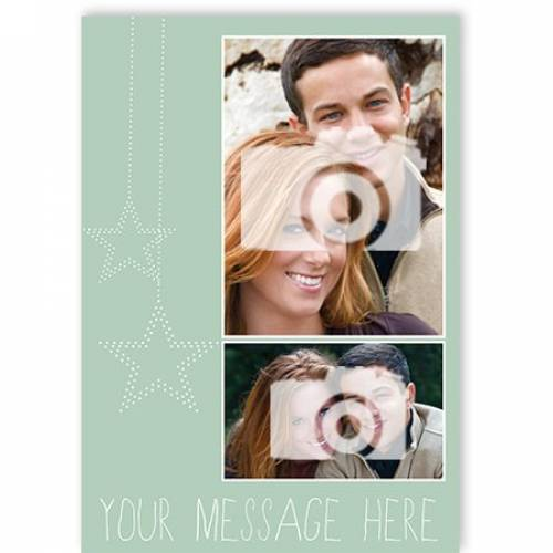 Your Message Here Photo Upload Card