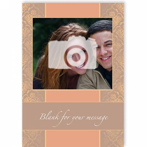 Photo Blank For Message Card