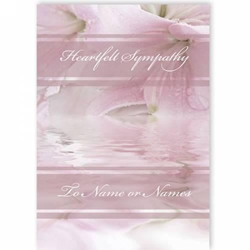 Heartfelf Sympathy Card