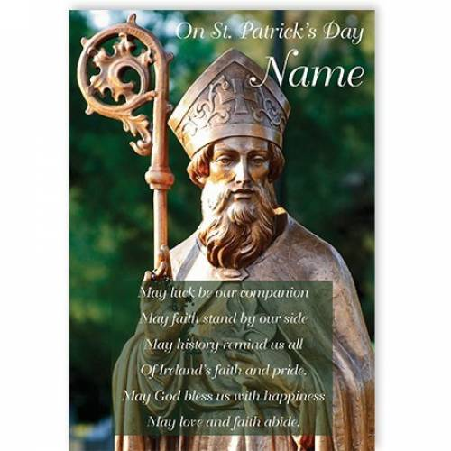 Ireland's Faith & Pride Patricks Day Card
