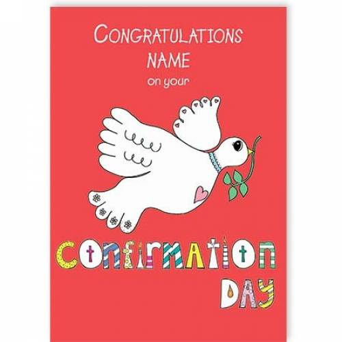 Congratulations On You Confirmation Card