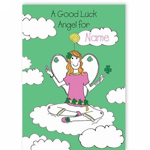 Good Luck Angel - Good Luck Card