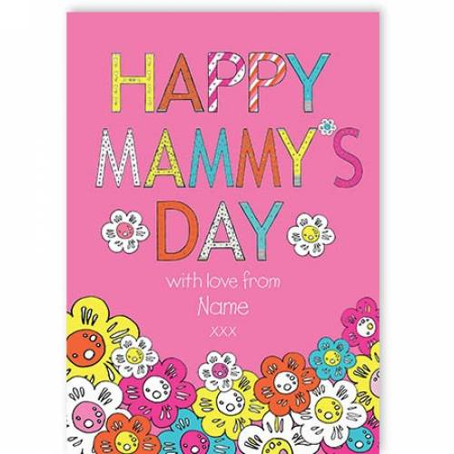 Happy Mammy's Day Mother's Day Card