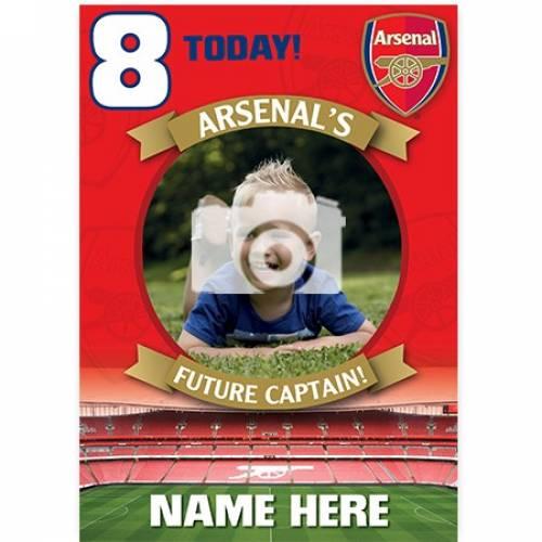 Arsenal's Future Captain Birthday Card