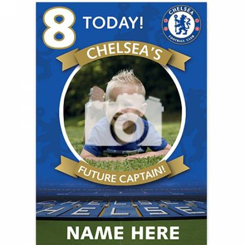 Chelsea's Future Captain Birthday Card