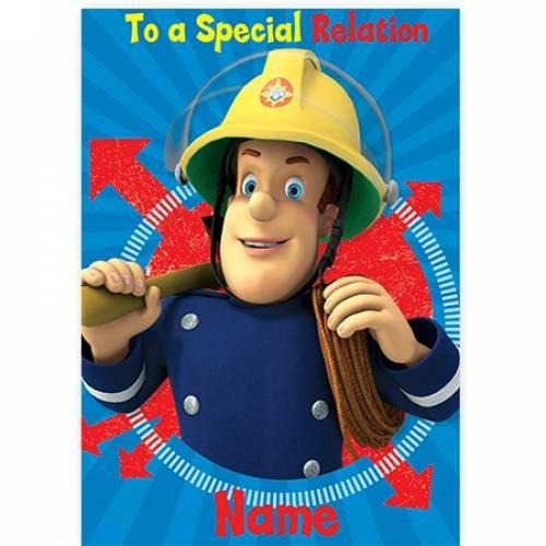 Fireman Sam Special Card
