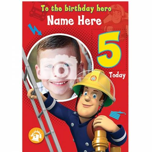 Fireman Sam Birthday Hero Birthday Card