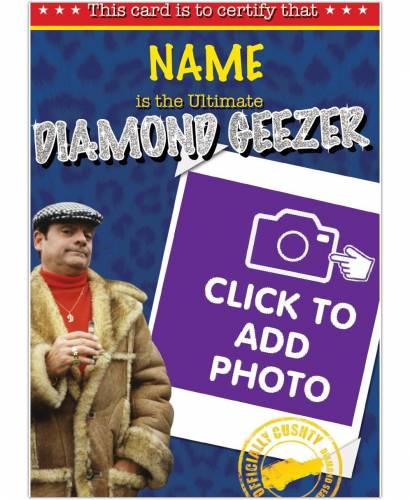 Only Fools And Horses Diamond Geezer Birthday Card